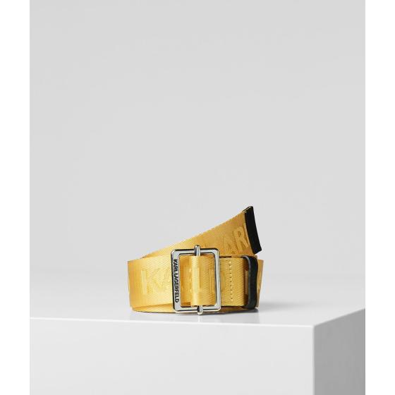 Karl Lagerfeld k/karl logo webbing belt 201W3196-0