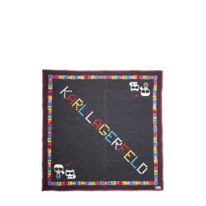 Karl Lagerfeld k/ikonic pixel scarf 201W3314