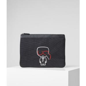 Karl Lagerfeld k/ikonik canvas pouch 201W3214