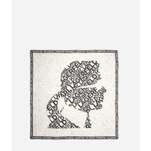Karl Lagerfeld karl logo kameo scarf 201W3307