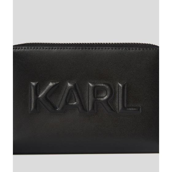 KARL LAGERFELD K/KARL SEVEN EMBOSSED MEDIUM WALLET 211W3217-2
