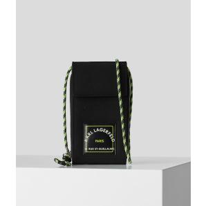 KARL LAGERFELD RUE ST-GUILLAUME NYLON PHONE POUCH 215W3208