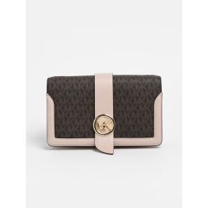 Michael Kors pink triple xbody bag