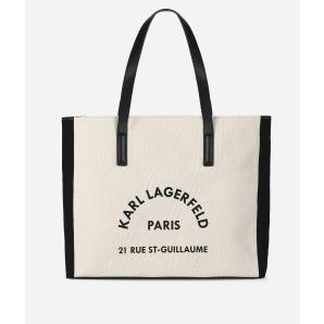 KARL LAGERFELD K/RUE LAGERFELD CANVAS BAG 91KW3098
