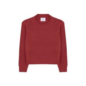 Compania fantastica red soft knit jumper WI19CHU20
