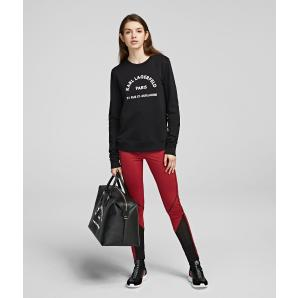 Karl Lagerfeld address logo sweatshirt 96KW1803