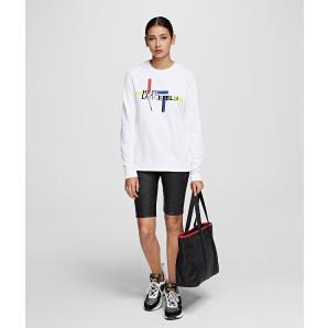 Karl Lagerfeld bauhaus logo sweatshirt 201W1811