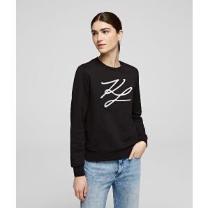 KARL LAGERFELD kl signature sweatshirt 201W1880