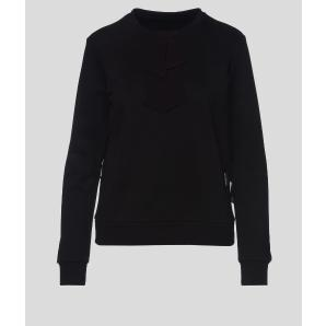 KARL LAGERFELD bow and ruffle sweatshirt 206W1808