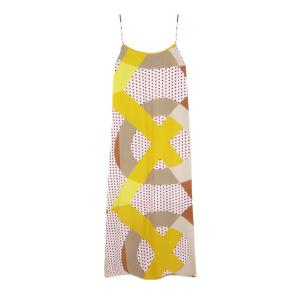 Compania Fantastica geometric polka dot maxi dress SS20HAN67