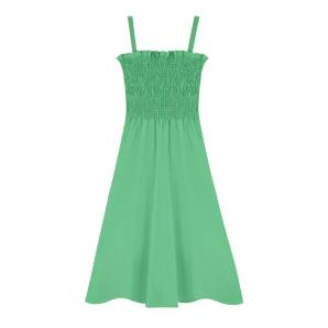 Compania Fantastica green strappy midi dress SS20HAN59