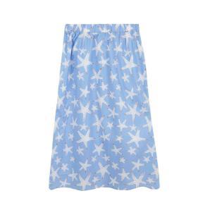 Compania Fantastica starfish print midi skirt SS20HAN57
