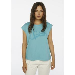 Compania Fantastica blue 'splash' t-shirt SS20SEV10
