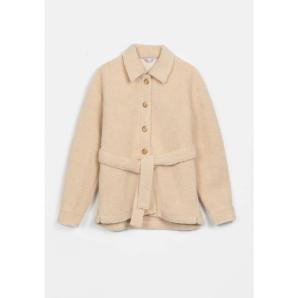 COMPANIA FANTASTICA cropped shearling coat FA20HAN133