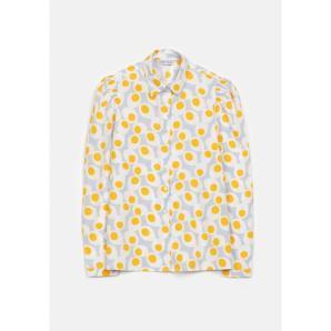 COMPANIA FANTASTICA full shirt with boiled egg print FA19SHE04