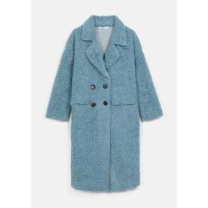 COMPANIA FANTASTICA double breasted teddy coat WI20HAN60