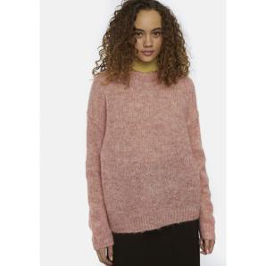 COMPANIA FANTASTICA OVERSIZED SOFT-KNIT JUMPER WITH SHINE EFFECT
