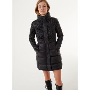 COLMAR ORIGINALS long micro quilted down jacket 2273