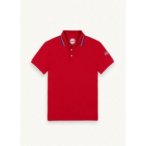 COLMAR ORIGINALS PIQUÉ POLO SHIRT WITH CONTRASTING COLLAR 7659Z