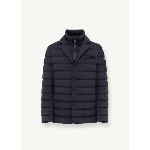 COLMAR ORIGINALS STRETCH DOWN JACKET WITH FIXED BIB AND CHEST POCKET