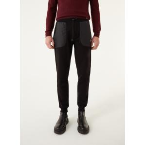 COLMAR ORIGINALS TROUSERS IN BRUSHED FLEECE WITH NYLON INSERTS