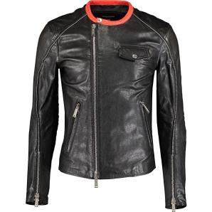 DSQUARED2 leather jacket S74AM0463