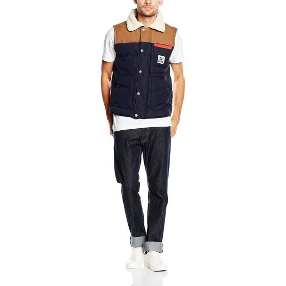 Superdry ford gilet navy M50LZ010-2