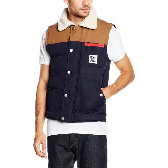 Superdry ford gilet navy M50LZ010-0