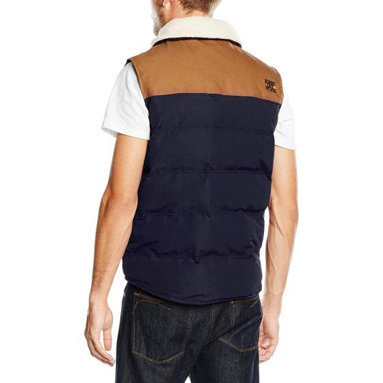 Superdry ford gilet navy M50LZ010-1