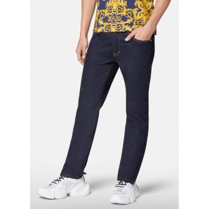 VERSACE LOGO EMBROIDERED JEANS A2GWA0S4