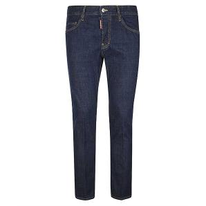 DSQUARED2 Clean Dark Wash Skater Jeans S74LB0817