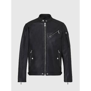 DIESEL Leather racer jacket A00270