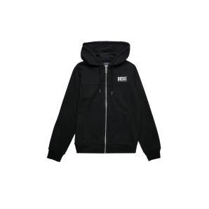 DIESEL Zip-up hoodie with logo print