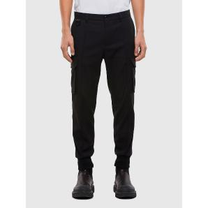DIESEL P-SONG Hybrid pants with cargo pockets A01380-0EBAC-9XX
