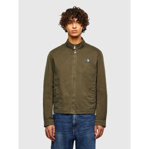 DIESEL Garment-dyed biker jacket A01631