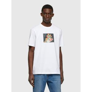 DIESEL T-shirt with photo print A01838