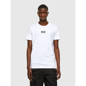 DIESEL T-shirt with small logo print A02365-OAAXI