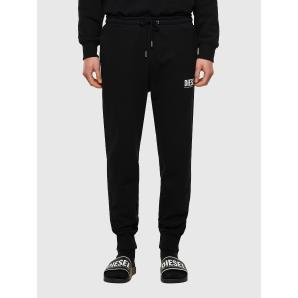DIESEL P-TARY-ECOLOGO Green Label sweatpants with logo print A02825