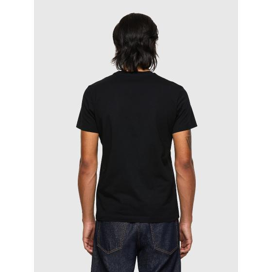 DIESEL T-DIEGOS-ECOSMALLOGO Green Label T-shirt with small logo print A02878-1