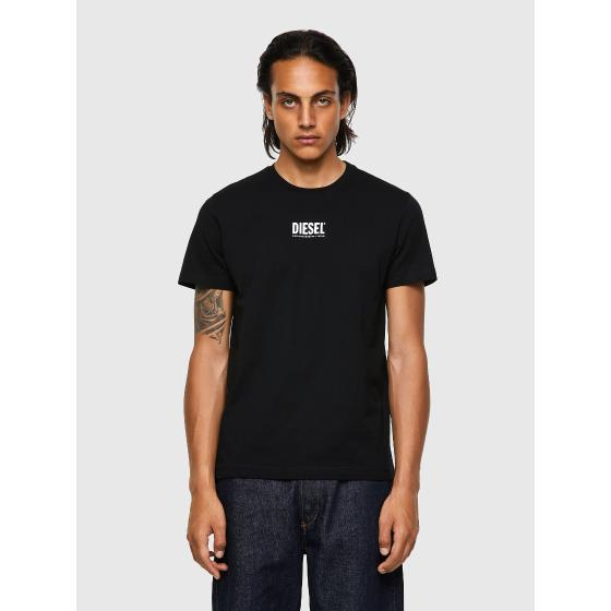 DIESEL T-DIEGOS-ECOSMALLOGO Green Label T-shirt with small logo print A02878-0