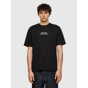 DIESEL T-TUBOLAR-B3 T-shirt with panther print A0298