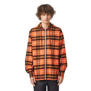DIESEL Check shirt in brushed cotton twill