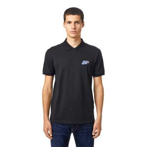 DIESEL Polo shirt with DSL wave patch