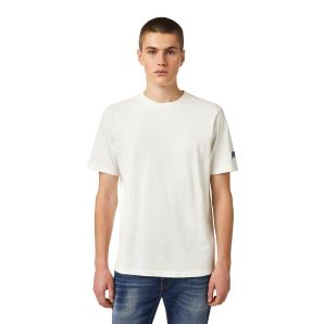 DIESEL T-shirt with DSL wave patch