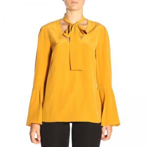 MICHAEL KORS Silk blouse with foulard collar MF84LLL96K