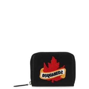 Dsquared2 logo patch zipped wallet WAM000912902219