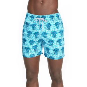VILEBREQUIN 'Moorea' Jellyfish Print Swim Trunks