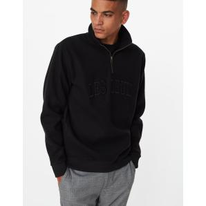 LES DEUX Avenue Fleece Half Zip Sweatshirt LDM200059