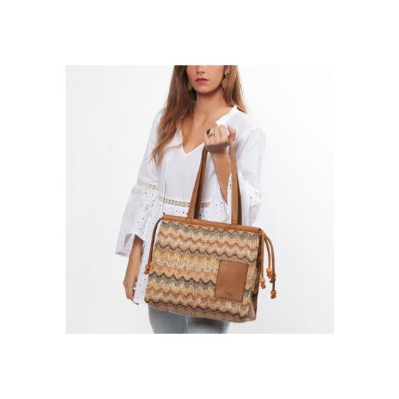 Tantrend shopping bag knitted -1