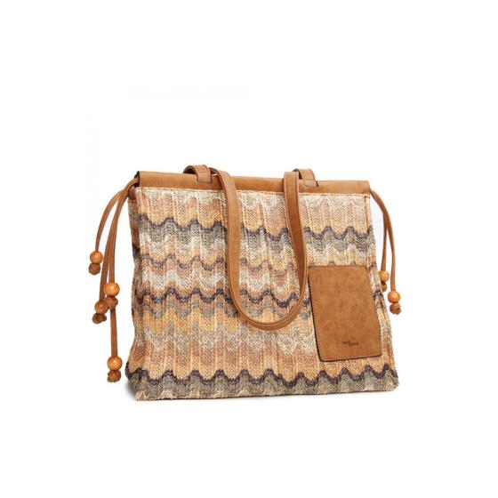 Tantrend shopping bag knitted -0